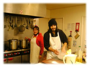 Volunteering in Unstone Grange Kitchen